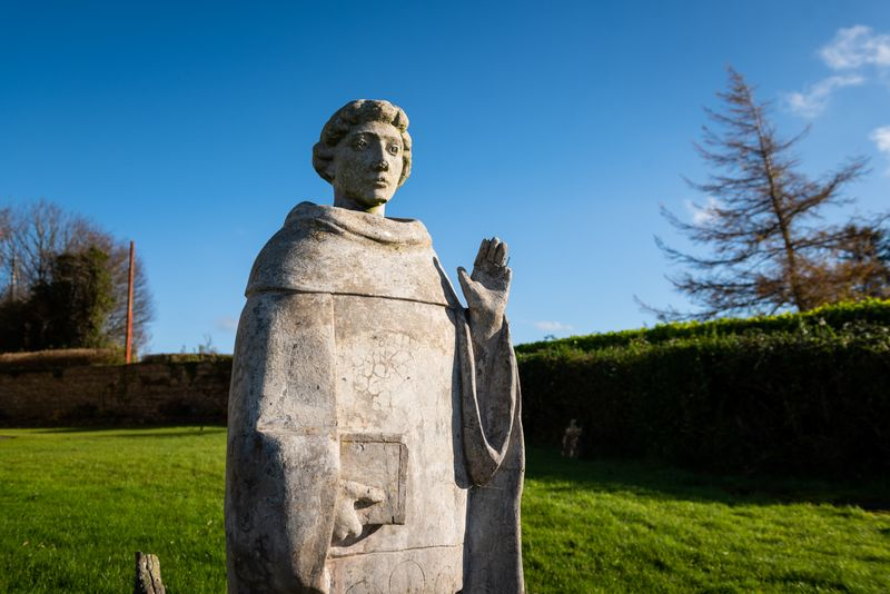 Colmcille Statue Rathcormac